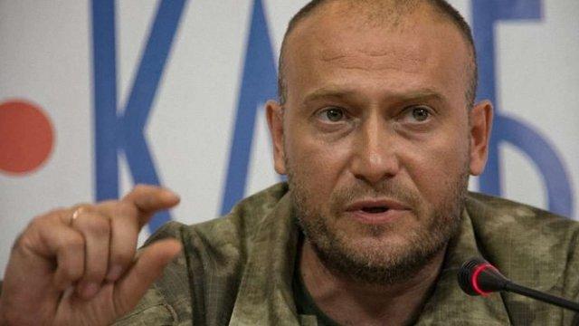 Дмитро Ярош: Конфлікт між «Правим сектором» і Збройними силами вичерпано