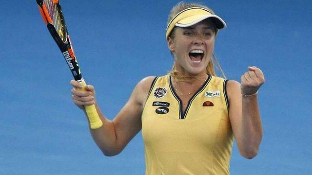 Українська тенісистка Еліна Світоліна перемогла у фіналі турніру WTA