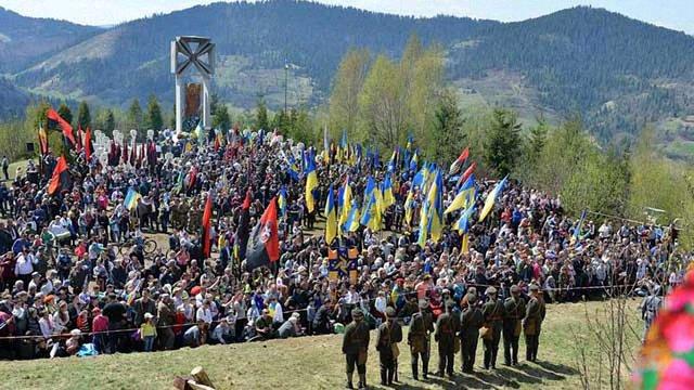На Львівщині відзначають 100-річчя перемоги на горі Маківці