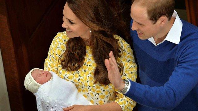Новонароджену британську принцесу назвали Шарлоттою