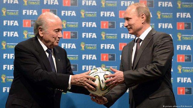 Німецький канал ARD у своєму фільмі критикує FIFA за рішення провести ЧС в Росії