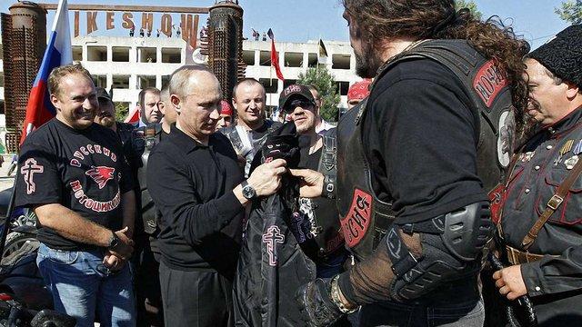 Путінські «Нічні вовки» хочуть судитися з Німеччиною