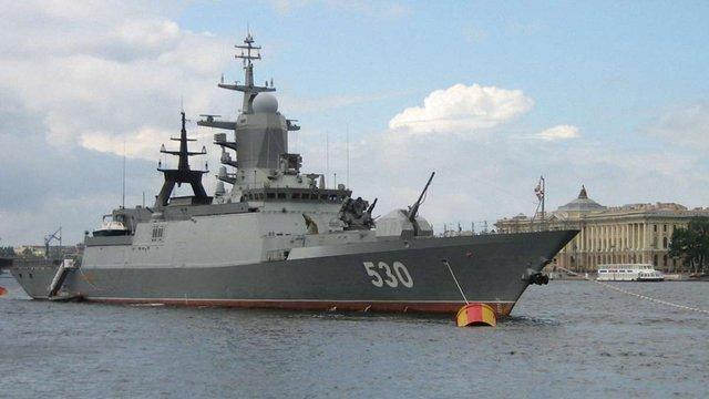 Росія призупинила будівництво фрегатів нового покоління через відсутність українських турбін