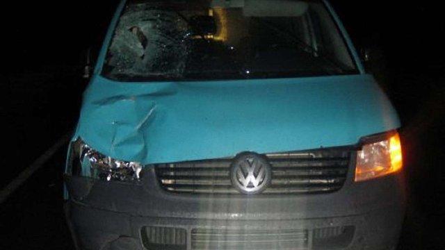 На трасі «Львів – Шегині» водій Volkswagen Т5 збив на смерть пішохода