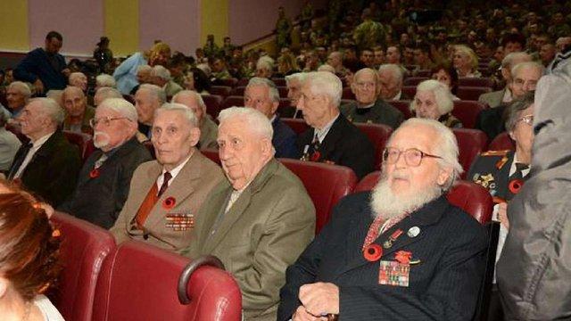 У Львові почесними грамотами нагородили ветеранів