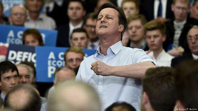 Консерватори перемагають на виборах у Великій Британії