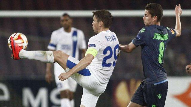 Одразу чотири гравці «Дніпра» ввійшли до команди тижня Ліги Європи