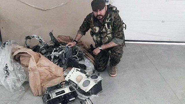 Українські бійці збили на Донбасі ізраїльський безпілотник