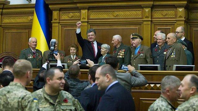 Спікер парламенту визнав бійців ОУН і УПА борцями за незалежність України