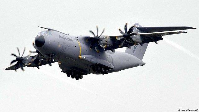 В Іспанії розбився новий військово-транспортний літак Airbus 400M