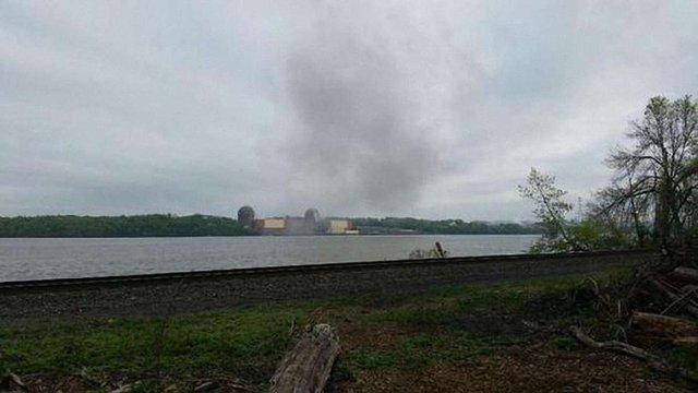 На атомній станції біля Нью-Йорку сталася пожежа