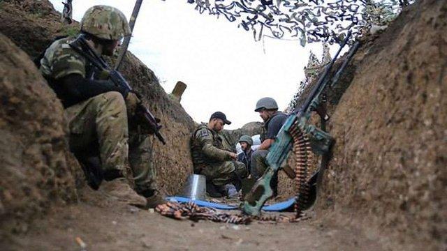 Під час спроби штурму українських позицій під Мар'їнкою бойовики зазнали втрат