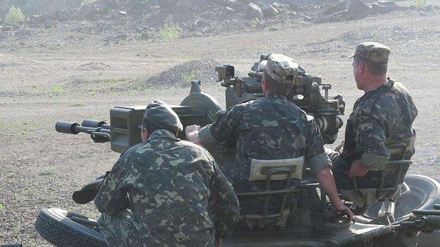 На Донеччині українські військові вперше випробували нову вогневу споруду