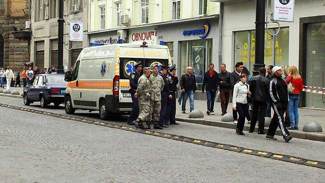 Анонім повідомив про замінування ТЦ «Опера пасаж» у центрі Львова