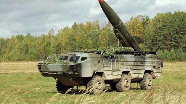 У Макіївку терористи привезли два ракетні комплекси «Точка-У»