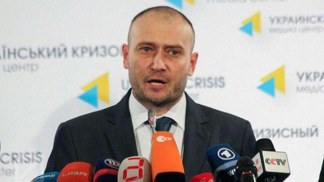 Дмитро Ярош підтвердив домовленості ПС з військовим керівництвом країни