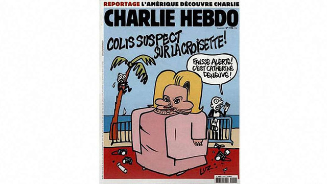 Портрет Деньов у Charlie Hebdo викликав скандал у Каннах