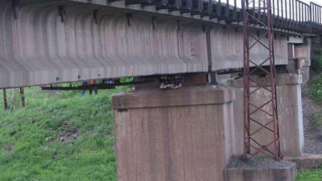 Працівники СБУ запобігли підриву залізничного мосту на Дніпропетровщині