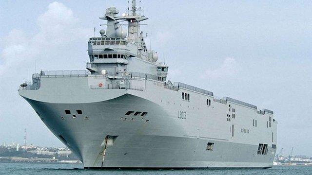 Французькі військові наполягають на затопленні «Містралів», які будувалися для РФ