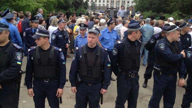 В Одесі стався конфлікт між проросійськими активістами і представниками Євромайдану