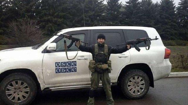 Бойовики затримали і обшукали автомобіль спостерігачів ОБСЄ