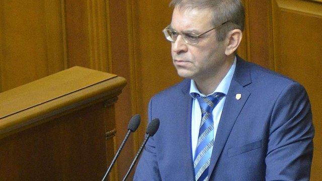Пашинський заявив про цькування з боку колег по коаліції