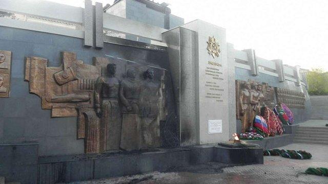 У Бурятії росіянин спалив Меморіал Перемоги