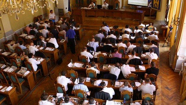 Сесійне засідання Львівської міськради. Пряма трансляція