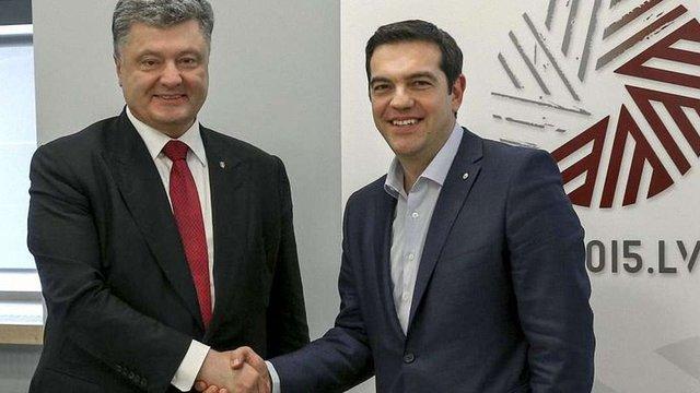 Петро Порошенко вимагає від Греції ратифікувати Угоду про асоціацію України з ЄС