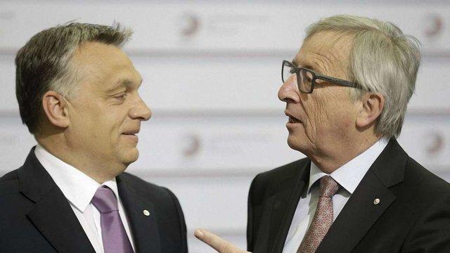 Голова Єврокомісії пожартував над прем'єр-міністром Угорщини Орбаном