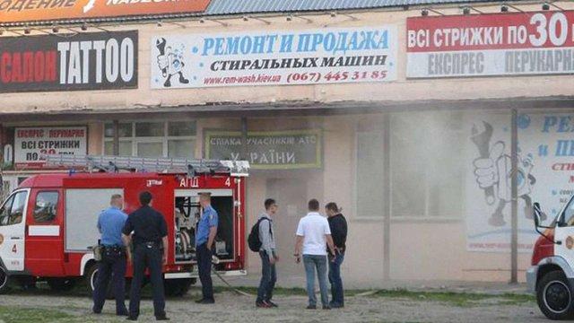 У Києві спробували підпалити офіс волонтерів по збору допомоги для бійців АТО