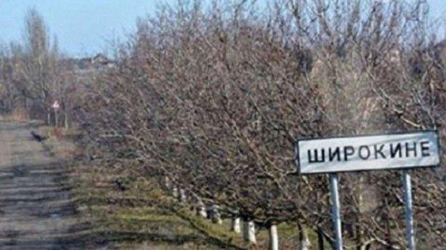 У Широкиному під час обстрілів на бойовиків впав будинок