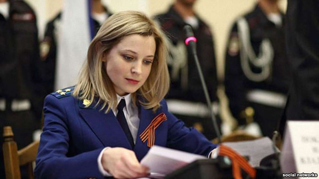 В Росії розпочались зйомки серіалу про «прокурора»  Криму Поклонську