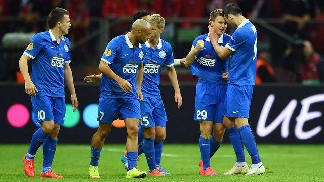«Дніпро» поступився «Севільї» у фіналі Ліги Європи