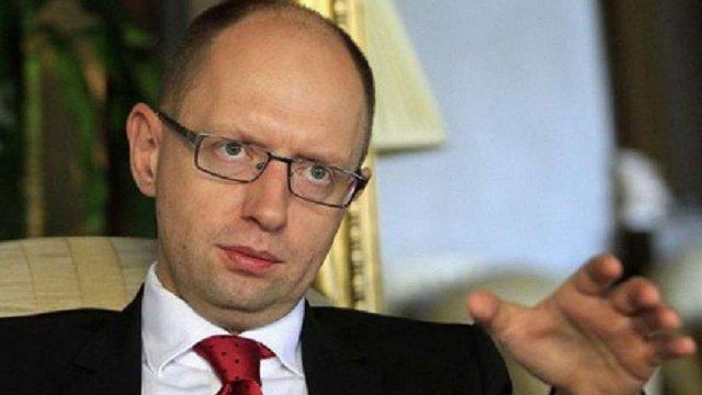 Яценюк розповів про план «Б» щодо Донбасу