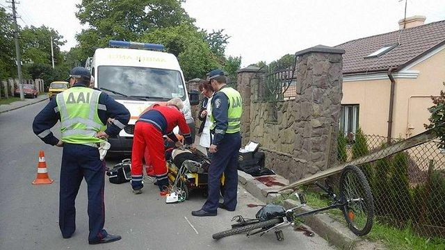 У Львові на смерть розбився велосипедист