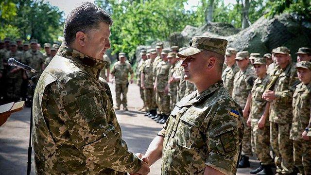 Президент нагородив бійців, які затримали російських диверсантів під Щастям