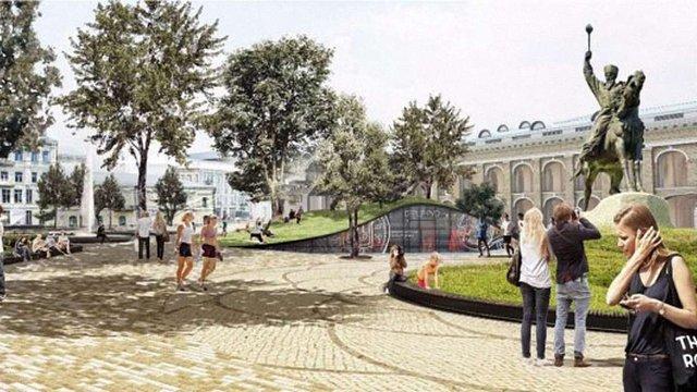 У Києві презентували проект нового вигляду Контрактової площі