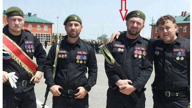 До бойовиків ДНР приїхала група чеченських поліцейських