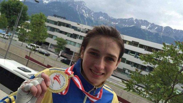 Українська спортсменка завоювала золото на турнірі із тхеквондо