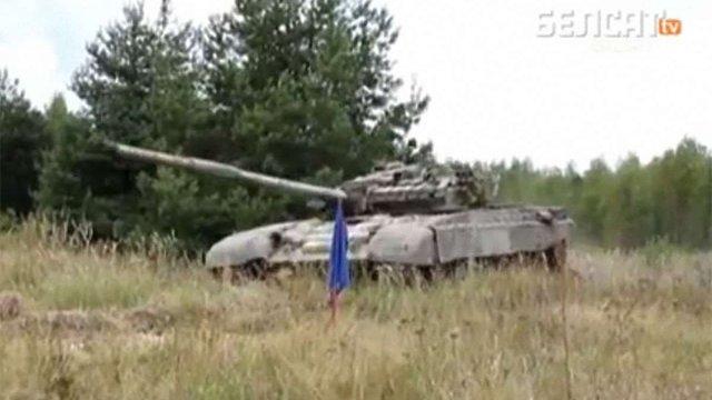 Білорусь стягує війська до кордону з Україною