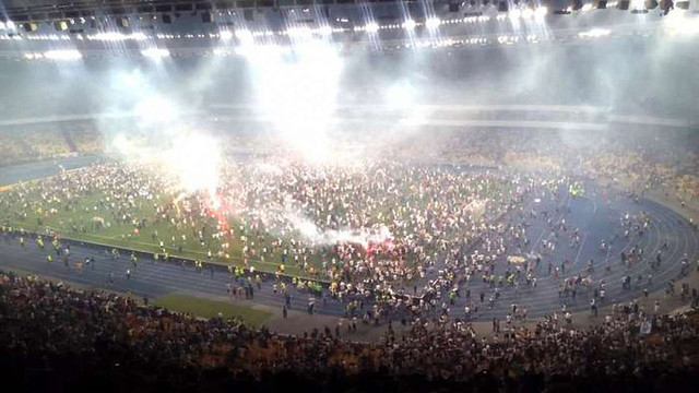 Київський стадіон «Олімпійський» обгородять спеціальними гратами від вболівальників
