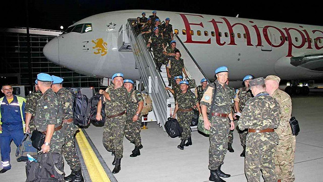 До Львова з Африки повернулися 175 українських миротворців
