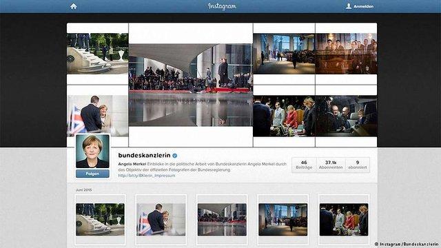 Коментарі Ангели Меркель в Instagram заполонили «кремлівські тролі»