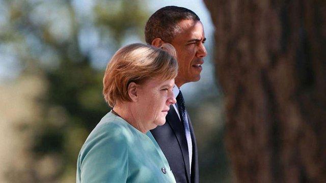 Меркель і Обама назвали умови скасування санкцій проти Росії