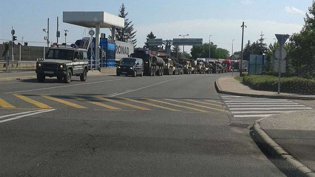 В Угорщині на кордоні з Україною помітили колону військової техніки, – ЗМІ