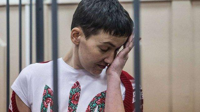 Московський суд продовжив арешт Савченко до 30 вересня