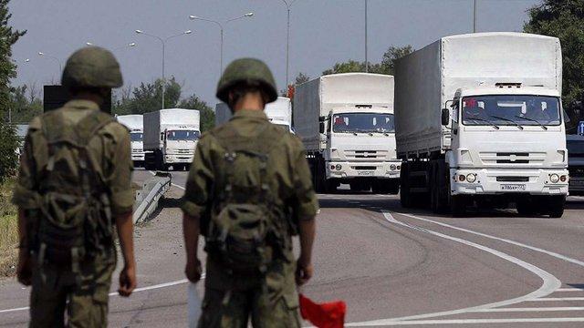 Ще один «путінський гумконвой» відправиться на Донбас 11 червня