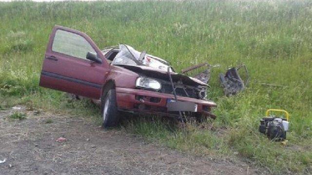 На трасі «Ковель-Червоноград-Жовква» зіткнулися автівки: загинули водій і пасажир «Volkswagen»