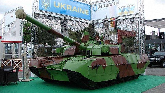 З нового року українська армія отримає танки «Оплот»